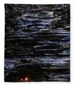 Eternal Flame Falls Fleece Blanket