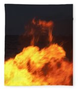 Eternal Life Fleece Blanket