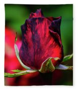 Eternal Love Rose Fleece Blanket