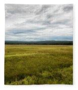 Eternal Yellowstone Fleece Blanket