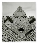 Ethereal Beauty Of Wat Arun Fleece Blanket