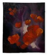 Ethereal Poppies                     81 Fleece Blanket