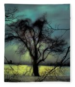 Ethereal Trees Fleece Blanket