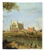 Eton College Fleece Blanket