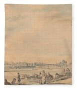 Eton College From The South Fleece Blanket