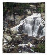 Ingliss Falls - Ontario Fleece Blanket
