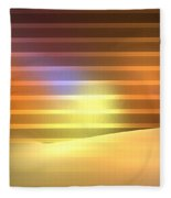 Europa Sunrays Fleece Blanket