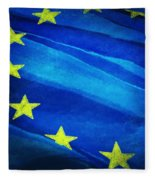 European Flag Fleece Blanket