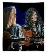 Eva Cassidy And Katie Melua Fleece Blanket