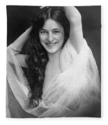 Evelyn Nesbit (1885-1967) Fleece Blanket