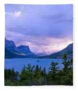 Evening At St. Mary's Fleece Blanket