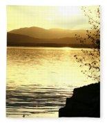Evening Charlotte Sunset Fleece Blanket