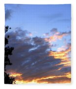 Evening Color Fleece Blanket