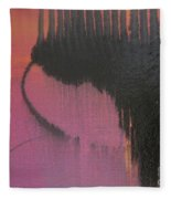 Evening Conversation Fleece Blanket
