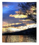 Evening Exhibition Fleece Blanket