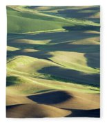 Evening Fields Fleece Blanket