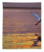 Evening Flight Fleece Blanket