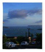 Evening For Sailing Fleece Blanket