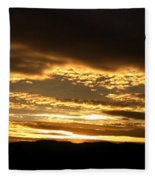 Evening Grandeur Fleece Blanket