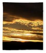 Evening Grandeur Fleece Blanket