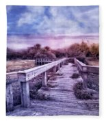 Evening Invitation Fleece Blanket