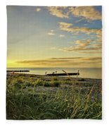 Evening Mood Fleece Blanket