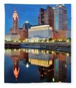 Evening Reflections Fleece Blanket