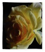 Evening Rose Fleece Blanket