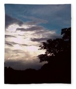 Evening Sky 1 Fleece Blanket