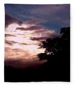 Evening Sky 2 Fleece Blanket