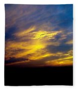 Evening Sky 5 Fleece Blanket