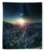 Evening Sky Fleece Blanket