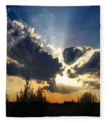 Evening Sky Fleece Blanket