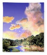 Evening Star Fleece Blanket