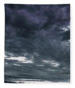 Evening Storm Fleece Blanket