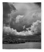 Everglades 0257bw Fleece Blanket
