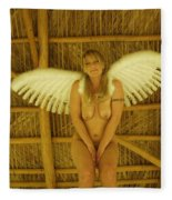 Everglades Angel Fleece Blanket