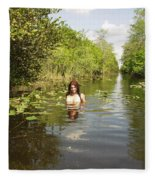 Everglades Beauty One Fleece Blanket