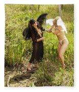 Everglades City Glamour 156 Fleece Blanket