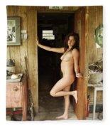 Everglades City Professional Photographer 706 Fleece Blanket