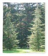 Evergreen Dance Fleece Blanket