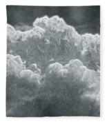 Every Lining Has A Silver Cloud Fleece Blanket