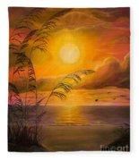 Everyday Sunrise Fleece Blanket