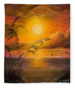 Everyday Sunrise Fleece Blanket