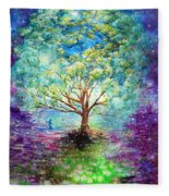Everything Is An Opportunity To Practice New Beginnings  Fleece Blanket