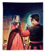 Execution Of Mary Queen Of Scots Fleece Blanket