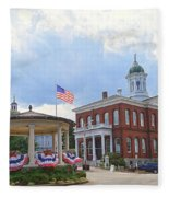 Exeter Town Hall Fleece Blanket