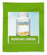 Exilera Male Enhancement Fleece Blanket