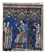 Exodus: Plague Of Hail Fleece Blanket