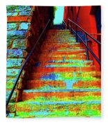 Exorcist Steps Fleece Blanket